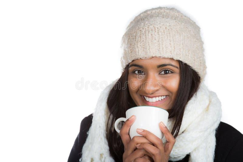 Frio indiano da mulher fotos de stock
