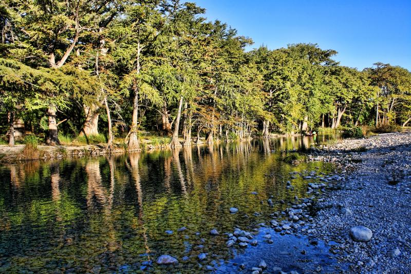 Frio River stock images
