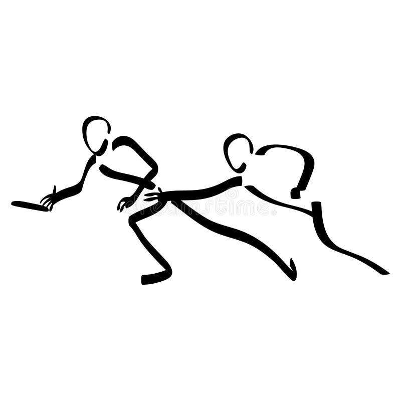 Frisbee vectoreps van het schijfgolf getrokken Hand, Vector, Eps, Embleem, Pictogram, crafteroks, silhouetillustratie voor versch vector illustratie