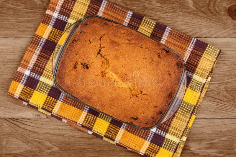 Frisch gebackener Kuchen lizenzfreies stockbild