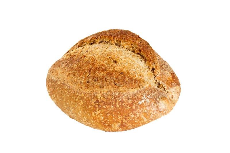 Frisch gebackenes Brot lokalisiert auf weißem Hintergrund lizenzfreie stockfotografie