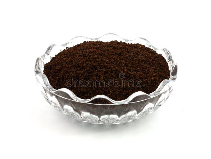 Frisch gemahlener Kaffee lizenzfreies stockfoto