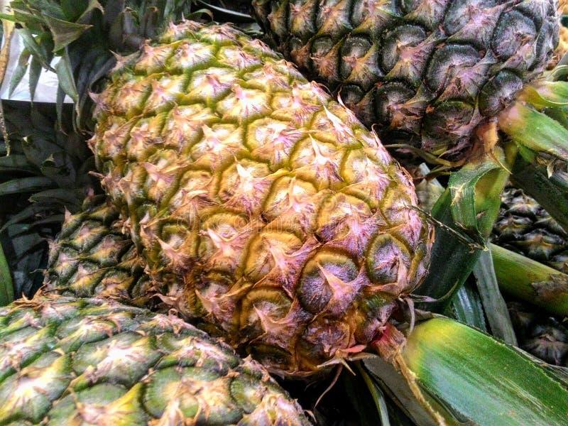 Frische Ananas stockfotos