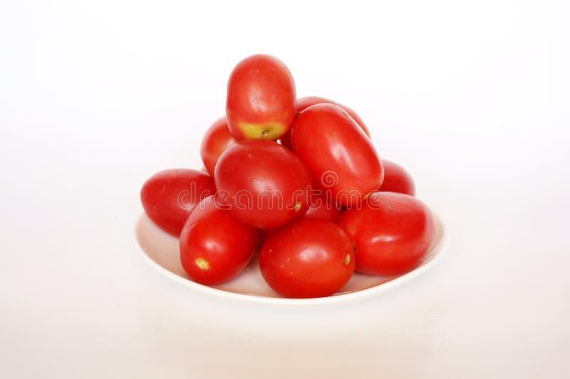Frische bunte Tomaten stockfotos