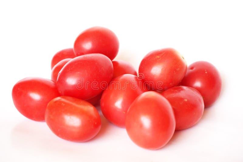 Frische bunte Tomaten lizenzfreie stockbilder