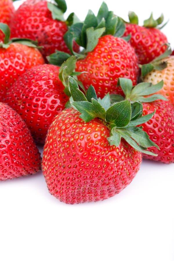 Frische Erdbeeren lizenzfreie stockfotos
