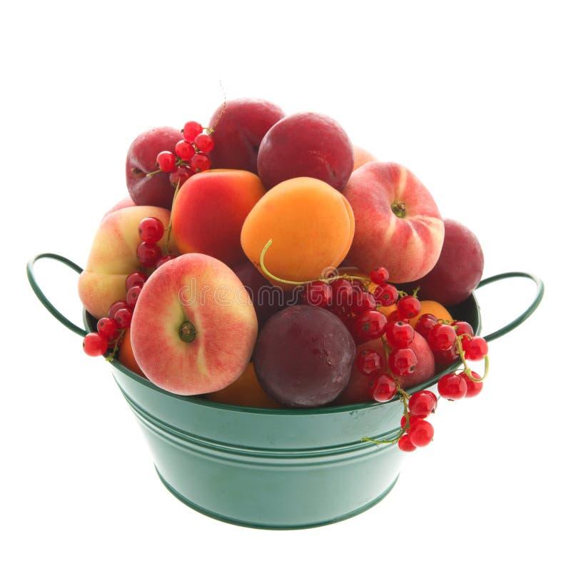 Frische Frucht des grünen Eimers stockfoto