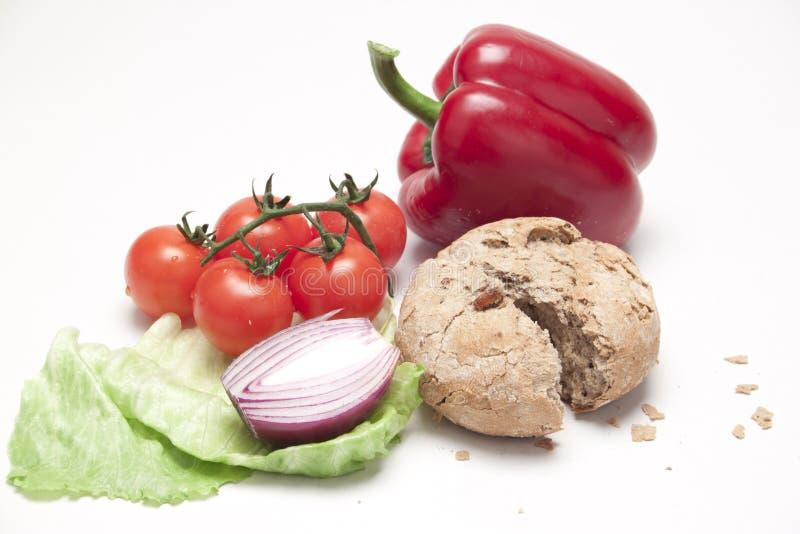 Frische gesunde Nahrung lizenzfreies stockbild