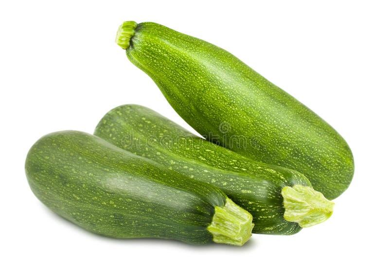 Frische grüne Zucchini lizenzfreie stockbilder