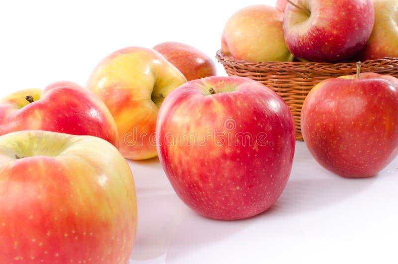 Frische königliche Galaäpfel lizenzfreie stockfotografie