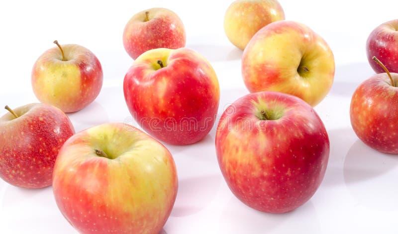 Frische königliche Galaäpfel lizenzfreies stockbild