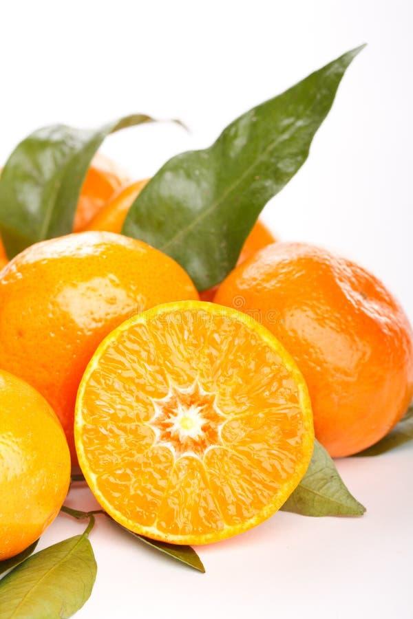 Frische Mandarinefrüchte lizenzfreie stockfotografie