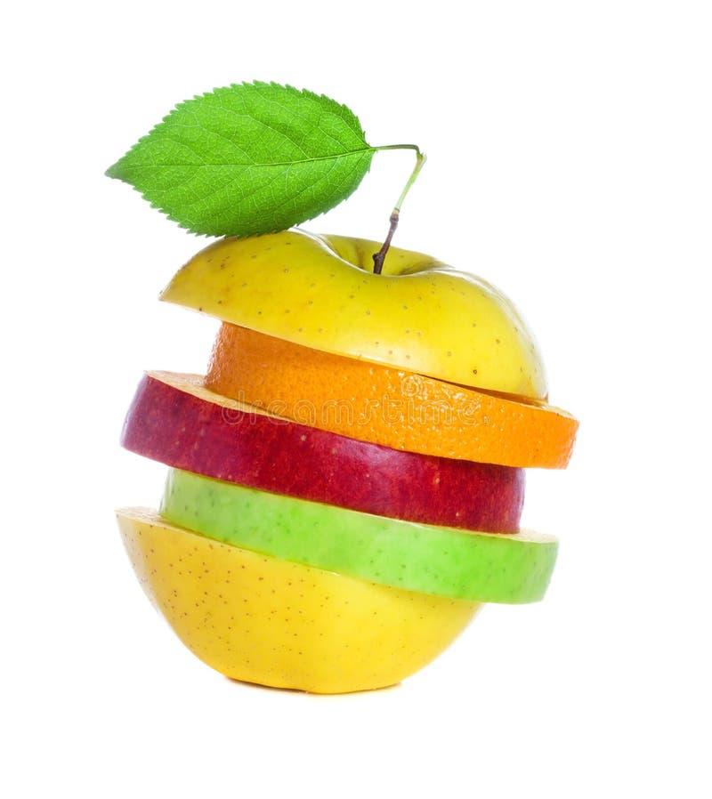 Frische Mischfrucht lizenzfreie stockfotos