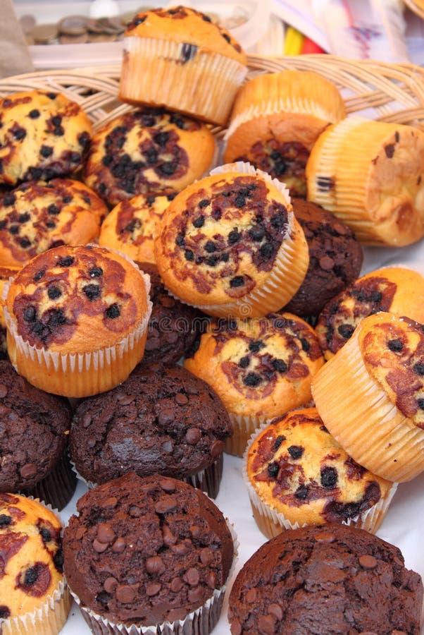 Frische Muffins stockfotografie
