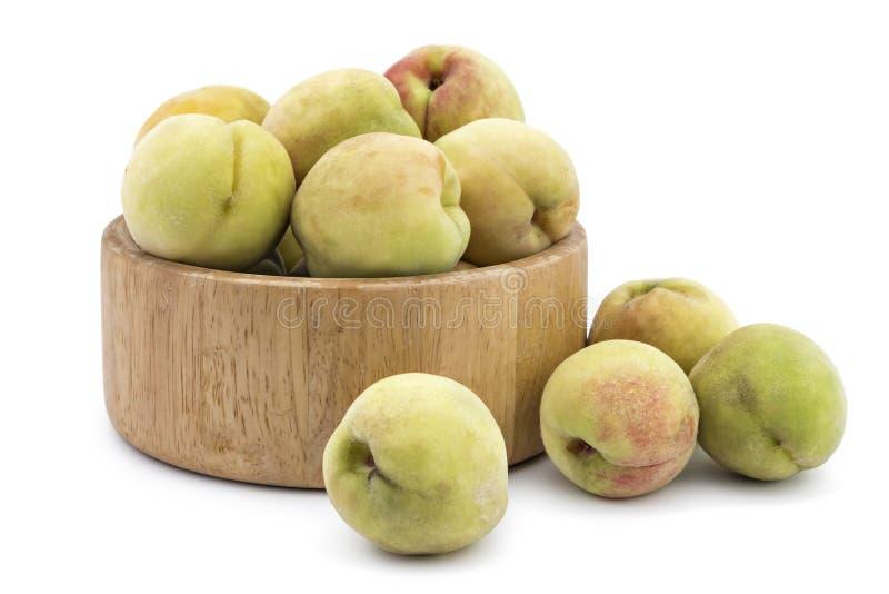 Frische organische Pfirsiche Å-eftelija lizenzfreies stockbild