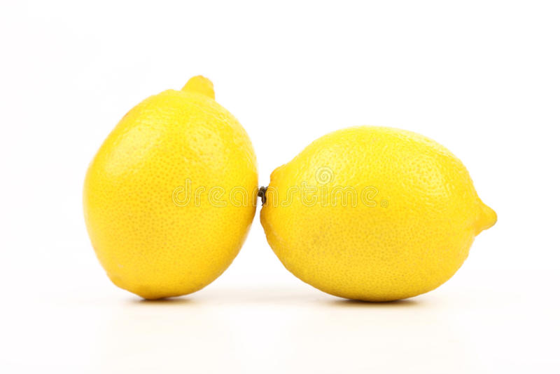 Frische reife Zitronen FTwo. lizenzfreies stockbild