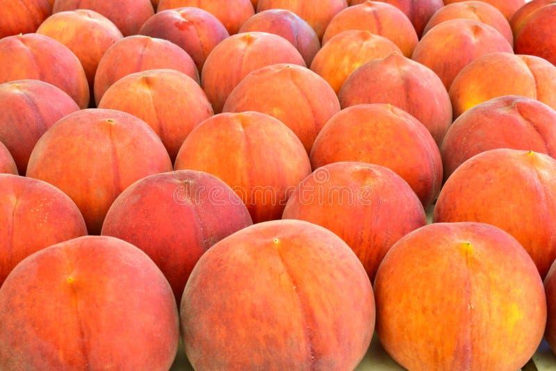 Frische saftige Pfirsichfrucht stockfotografie