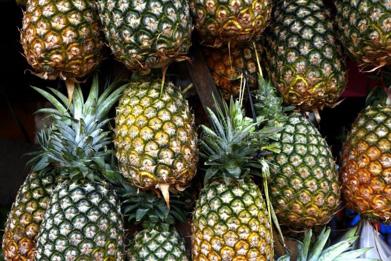 Frische und reife Ananas lizenzfreies stockfoto
