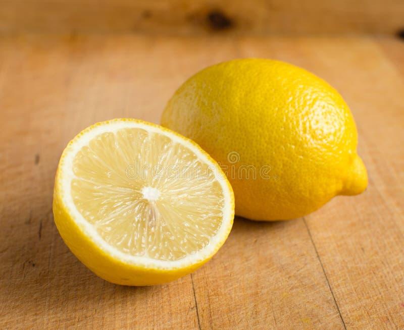 Frische Zitronen Stockfotos