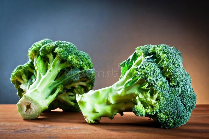 Frischer Brokkoli lizenzfreie stockfotos