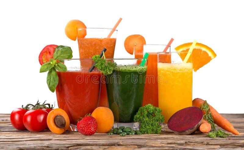 Frischer Fruchtsaft lizenzfreie stockfotos