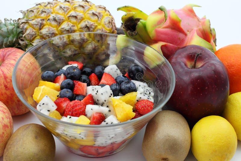 Frischer Fruchtsalat lizenzfreie stockfotos