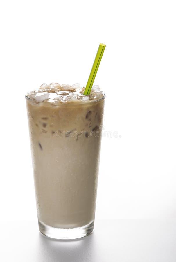 Frischer gefrorener Kaffee stockfoto