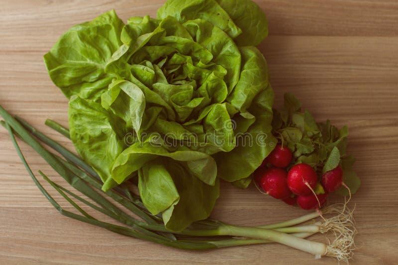 Frischer gesunder Lebensmittel-Salat lizenzfreies stockbild