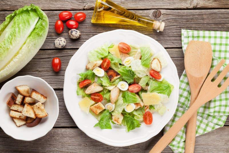 Frischer gesunder Salat lizenzfreie stockfotografie