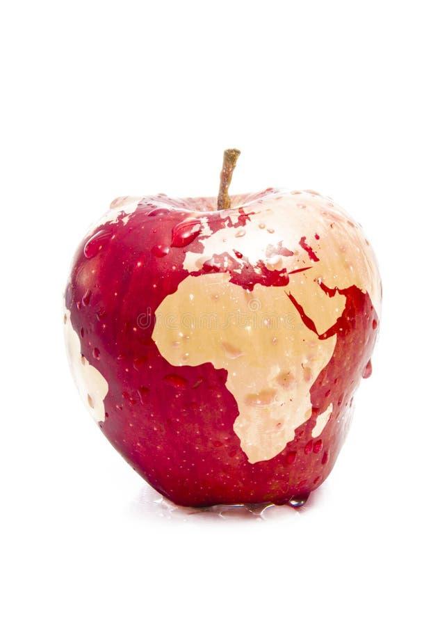 Frischer globaler Apple lizenzfreies stockfoto