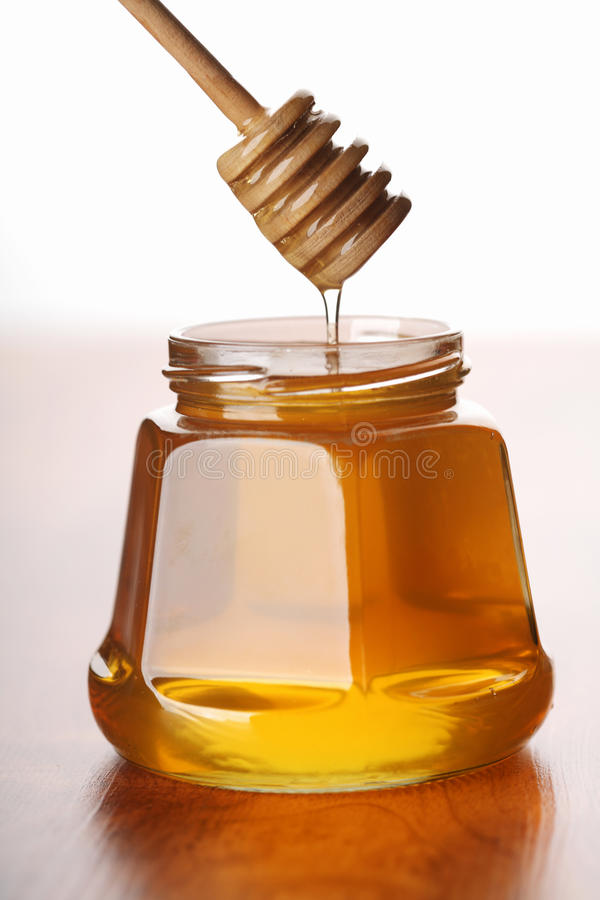 Frischer Honig stockbild