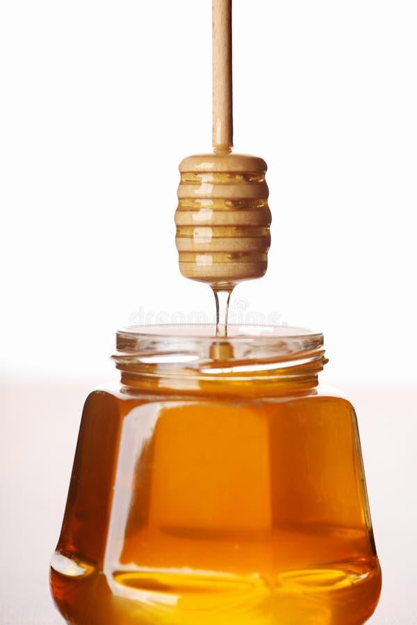 Frischer Honig stockfotografie