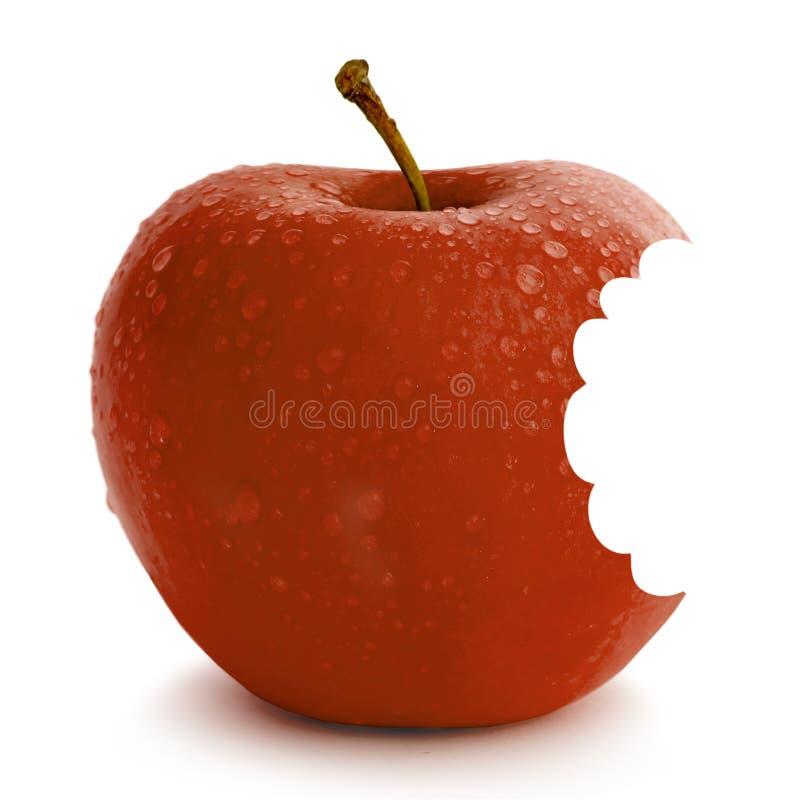 Download Frischer roter Apfel stockfoto. Bild von geschmackvoll - 9089872