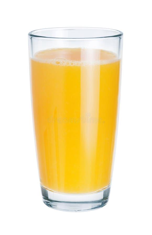 Frischer Saft im Glas stockfoto