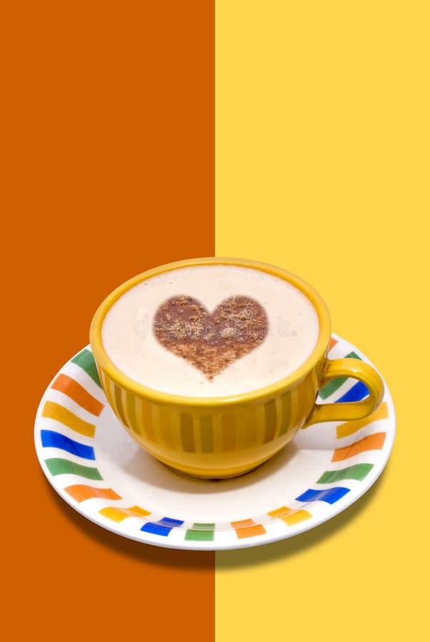 Frischer Tasse Kaffee stockbilder