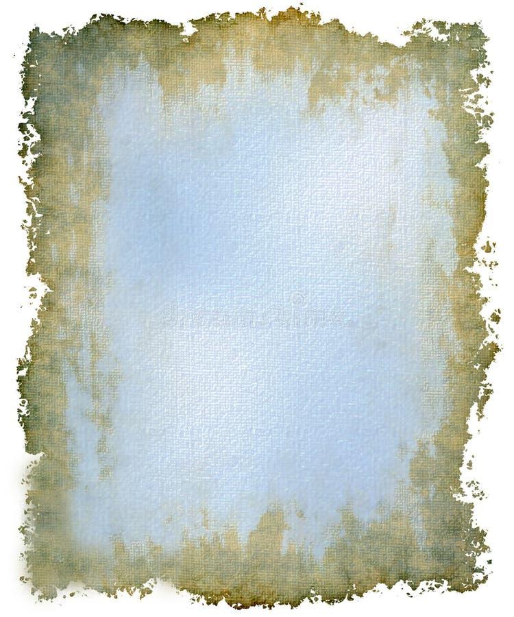 Frisches blaues Grunge lizenzfreie stockfotos