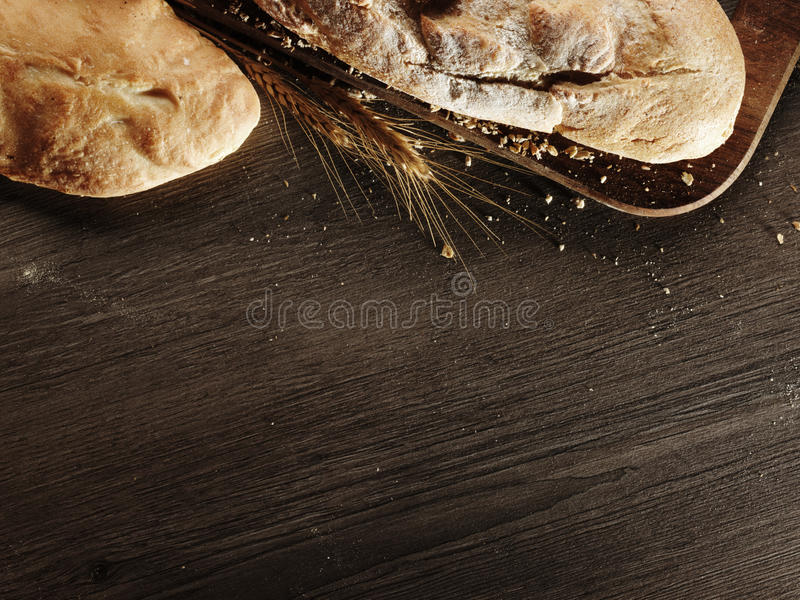 Frisches Brot stockbild