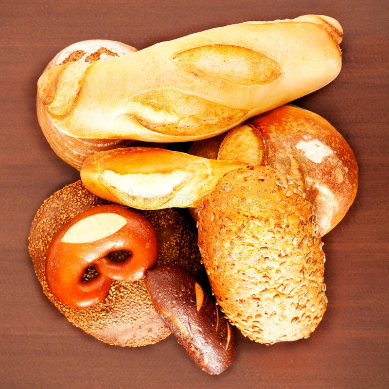 Frisches Brot stockfotos