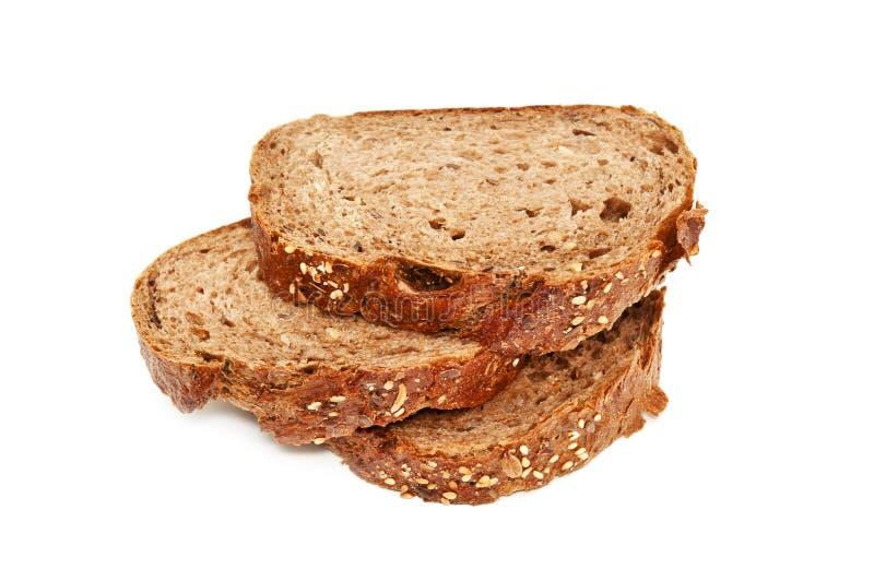 Frisches Brot, geschnittenes Brot stockbild