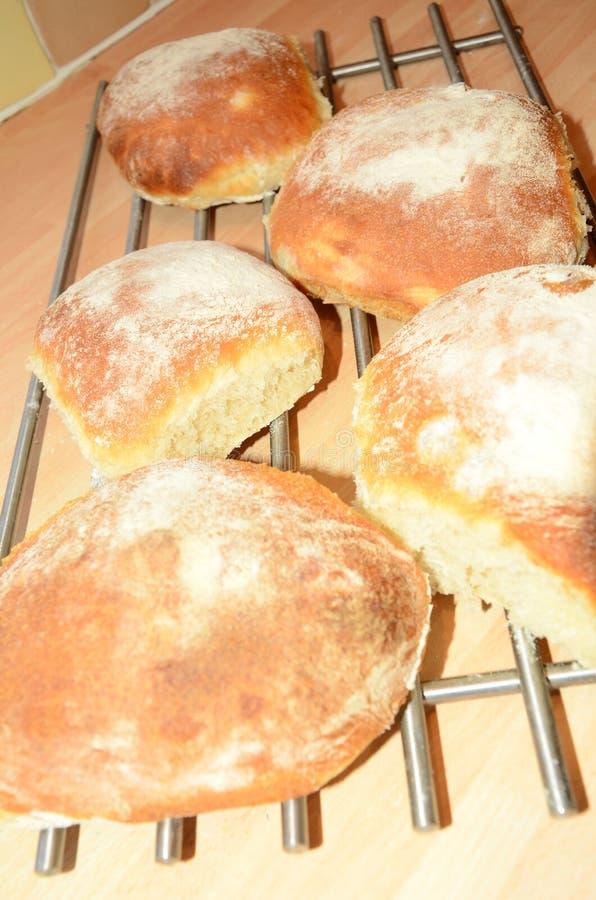 Frisches Brot heraus der Ofen stockfotos