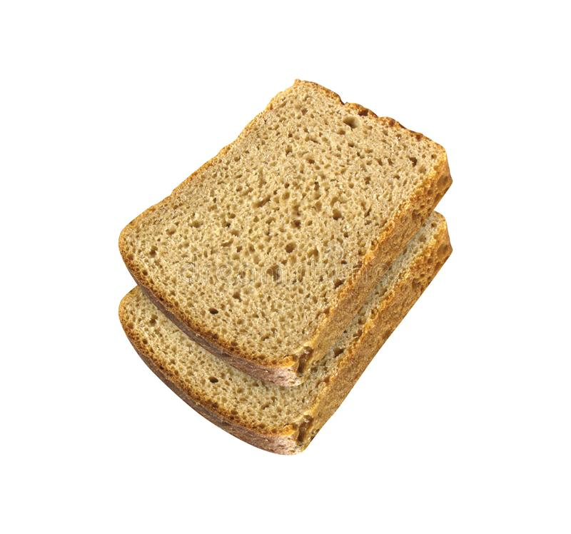 Frisches Brot-Scheiben stockfotografie