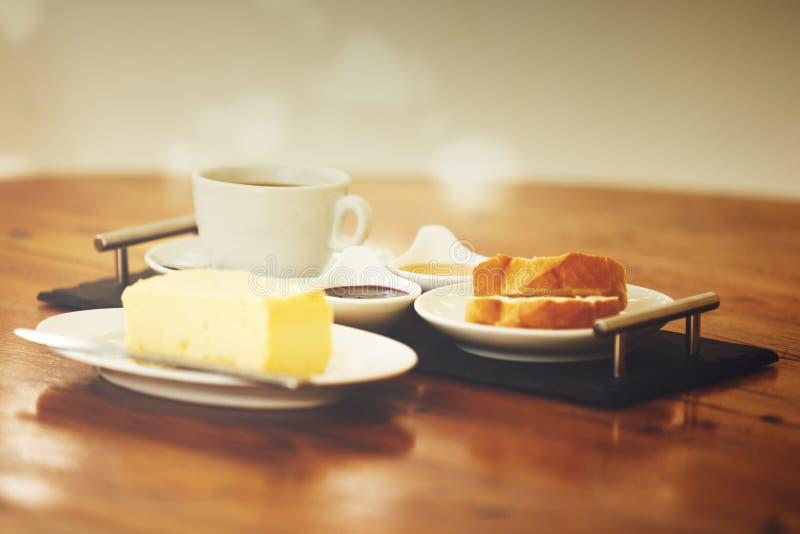 Frisches Frühstück stockbild