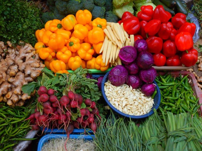 Frisches Gemüse-IV des Bauernhofes lizenzfreies stockfoto