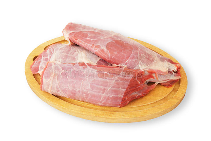 Frisches Kalbfleisch stockfoto