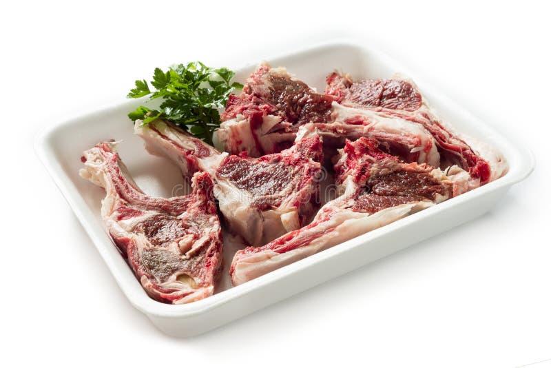 Frisches Lammfleisch lizenzfreies stockbild