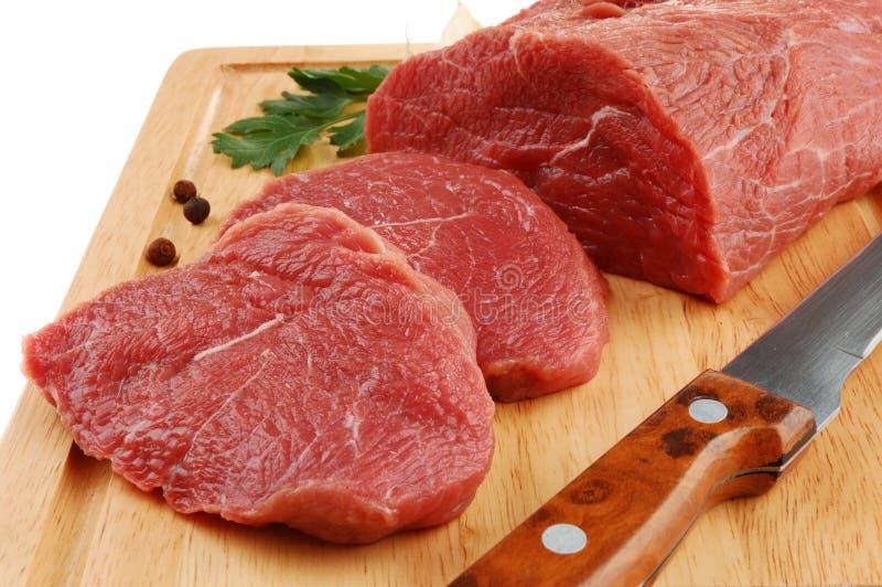 Frisches Rindfleisch lizenzfreies stockbild