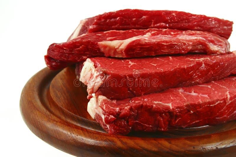 Frisches rotes Rindfleischfleisch lizenzfreies stockfoto