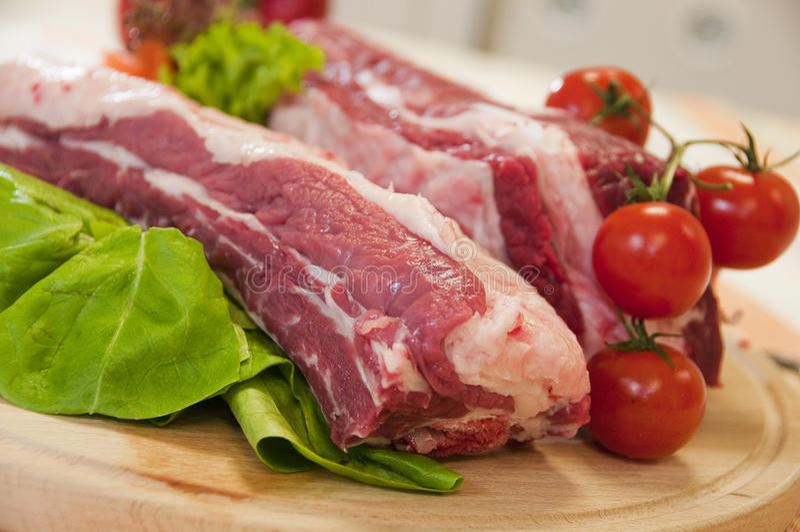 Frischfleisch stockfotografie