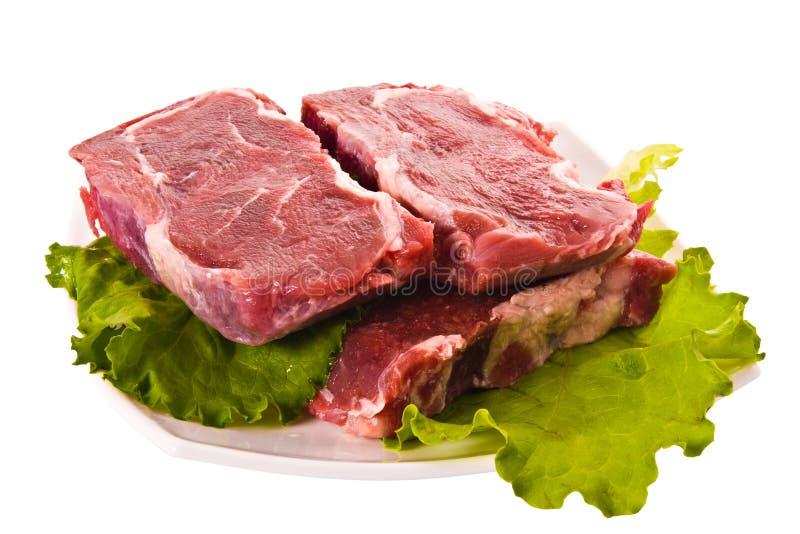 Frischfleisch stockbilder
