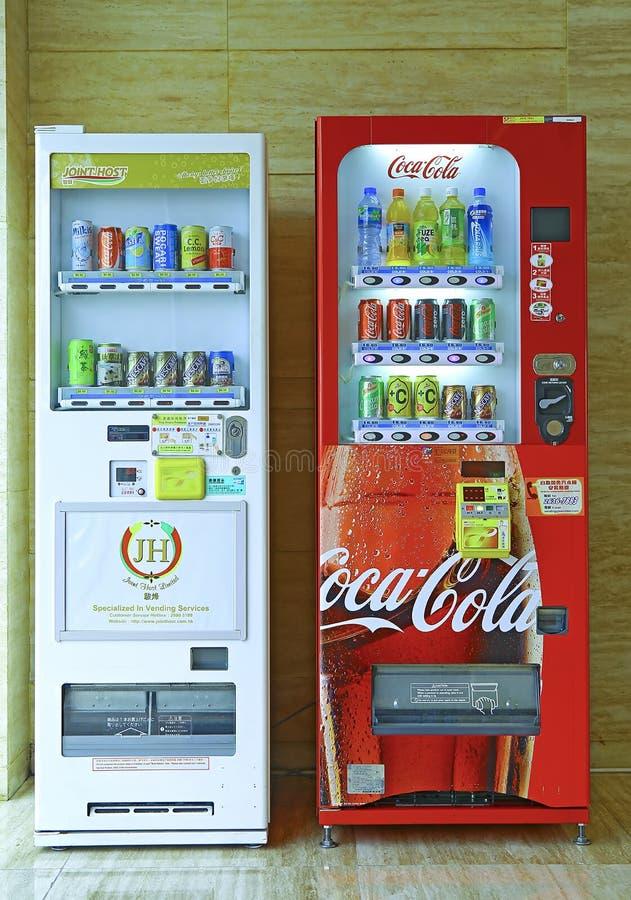 Frisdrankenautomaten royalty-vrije stock fotografie